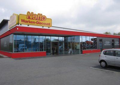 Lebensmittelmarkt Neubau Nossen