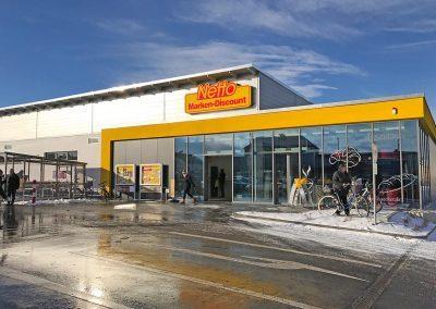 Neubau Lebensmittelmarkt Schwandorf