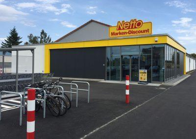 Großumbau Netto Nerchau Sommer 2018