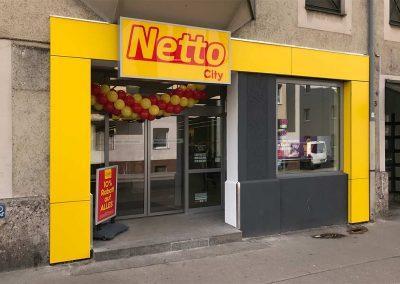 Netto City Umbau Augsburg