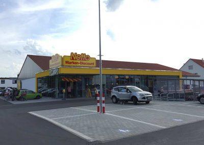 Netto Großumbau Diespeck
